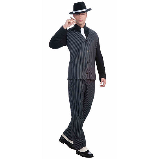 Mens 20'S Gangster Costume 3-pc. Dress Up Costume