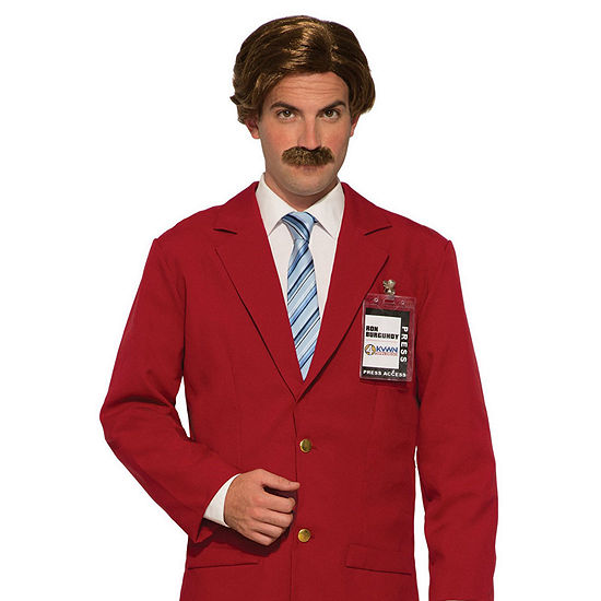 Buyseasons Anchorman Wig & Moustache Dress Up Accessory 3-pc. Dress Up Accessory