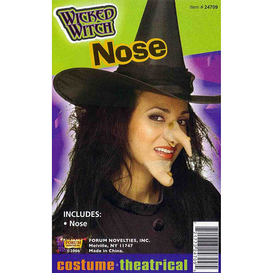 Buyseasons Witch Nose Dress Up Accessory