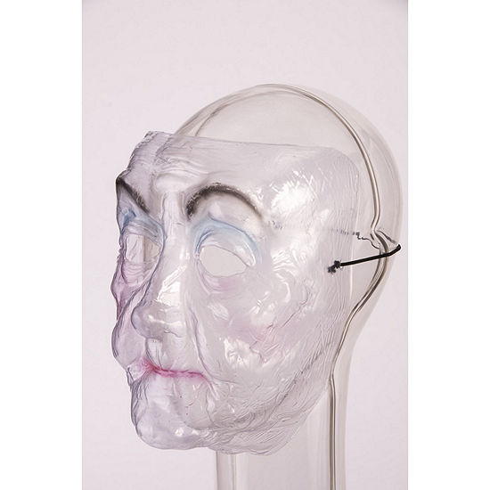 Buyseasons Transparent Mask - Old Lady Dress Up Accessory