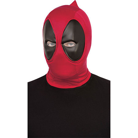 Deadpool Deluxe Adult Mask Dress Up Accessory Deadpool Dress Up Accessory, One Size , Multiple Colors
