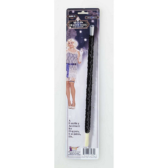 Deluxe Black Sequin Cigarette Holder