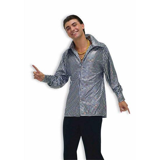 Hustle Hunk Shirt Adult Costume
