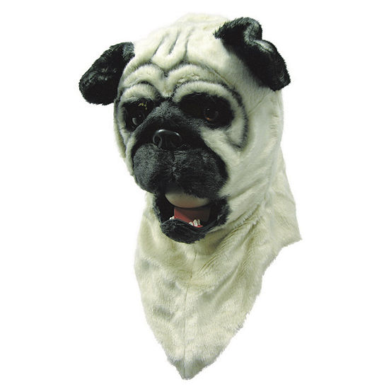 Bull Dog Moving Mouth Mask Dress Up Accessory