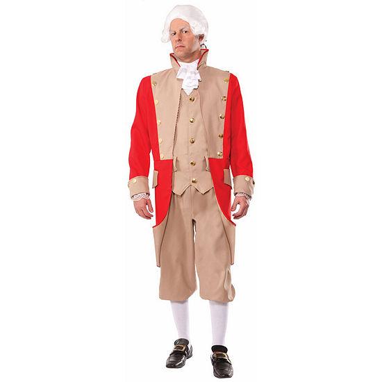 British Red Coat Adult Costume