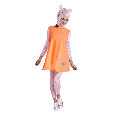 Peppa Mummy Pig Adult Dress Up Costume, Large , Multiple Colors