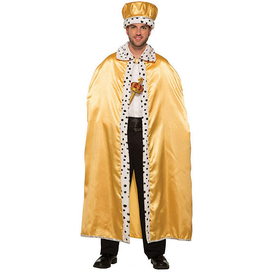 Gold Adult King Crown Dress Up Accessory