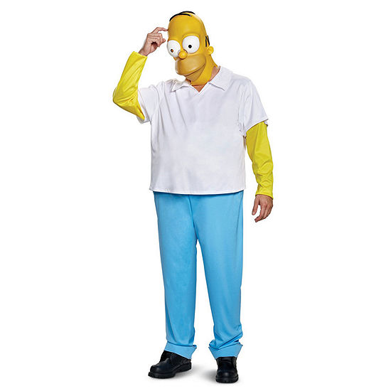 The Simpsons Homer Deluxe XXL Adult 2-pc Costume
