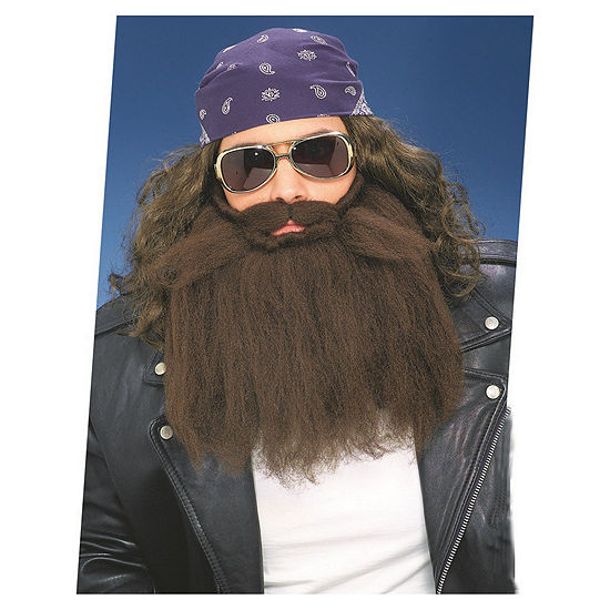 Buyseasons Brown Beard And Moustache Dress Up Accessory