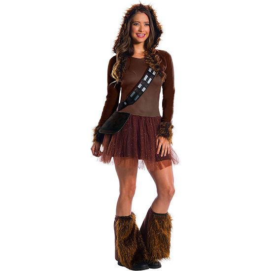 Classic Womens Chewbacca Dress Up Costume Costume