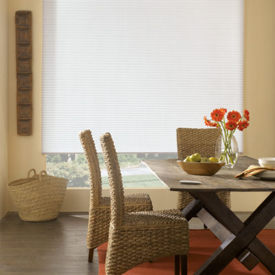 Bali® Custom Light Filtering Cordless Double Cellular Shade