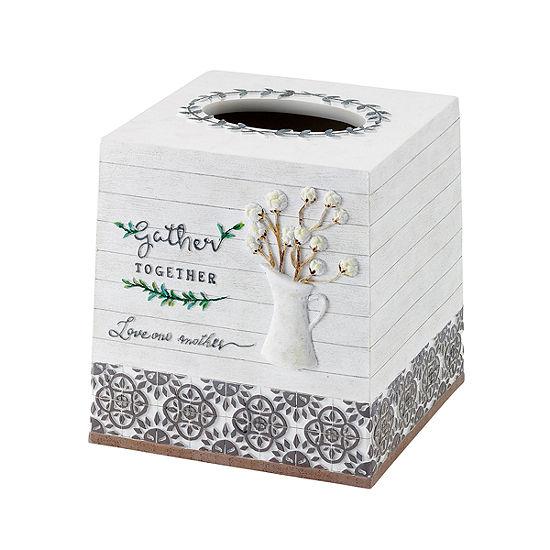 Avanti Modern Framhouse Tissue Box Cover