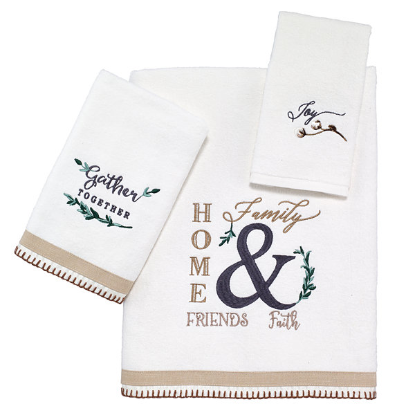 Avanti Modern Farmhouse Bath Towel