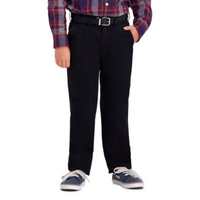 Haggar Sustainable Chino Pant Flat Front Pants Boys