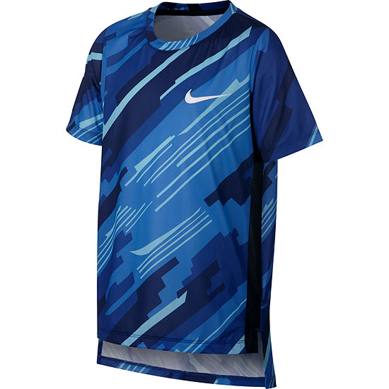 2ea21d94 Nike Boys Crew Neck Short Sleeve Dri-Fit T-Shirt Preschool / Big Kid -  JCPenney