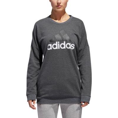 adidas Adidas Badge Of Sport Crew Long Sleeve Sweatshirt