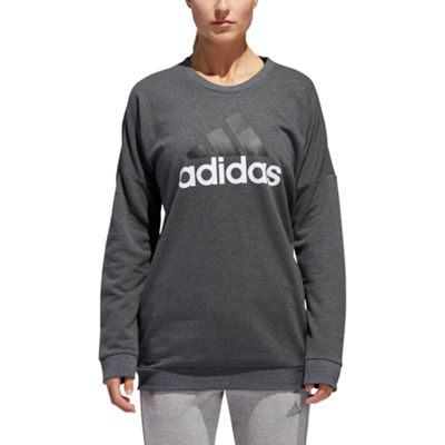 adidas Badge Of Sport Crew Neck Long Sleeve Sweatshirt