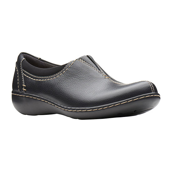 Clarks Womens Ashland Joy Slip-On Shoe