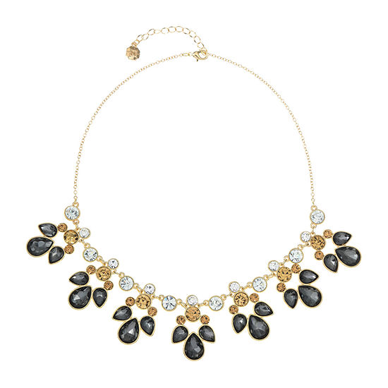 Monet Jewelry Multi Color 18 Inch Cable Statement Necklace
