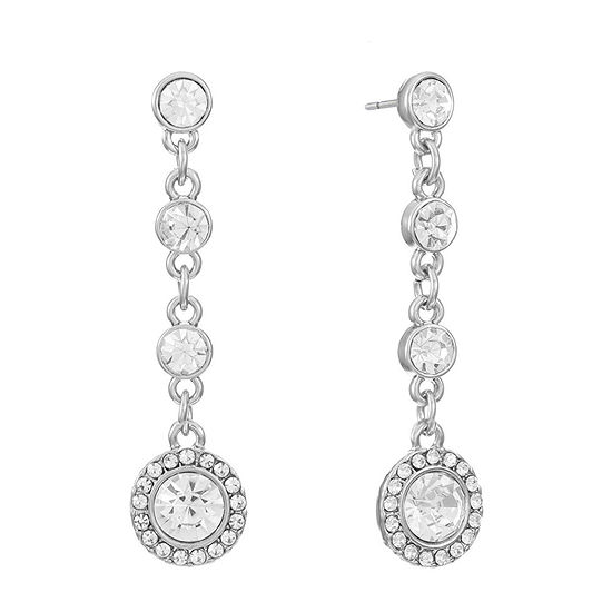 Monet Jewelry Round Drop Earrings
