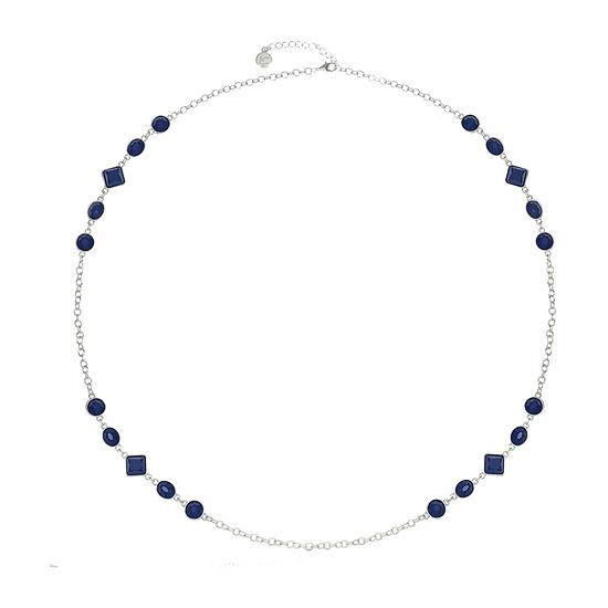 Liz Claiborne 34 Inch Cable Square Strand Necklace