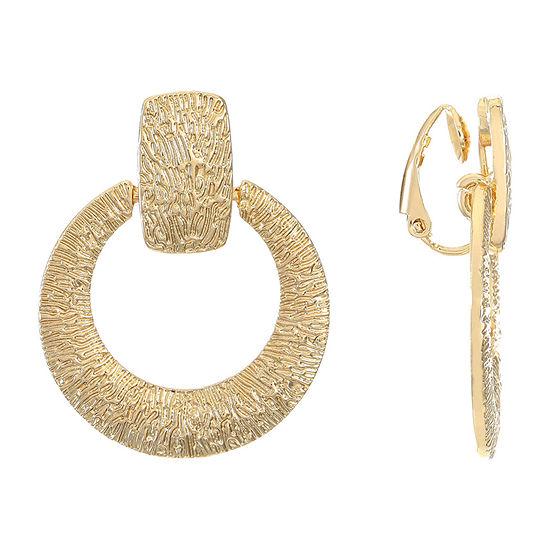 Liz Claiborne 1 Pair Clip On Earrings