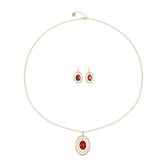 Monet Jewelry 2-pc. Red Jewelry Set