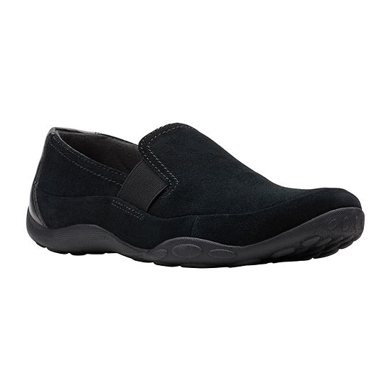 Clarks Womens Haley Park Slip-On Shoe Closed Toe