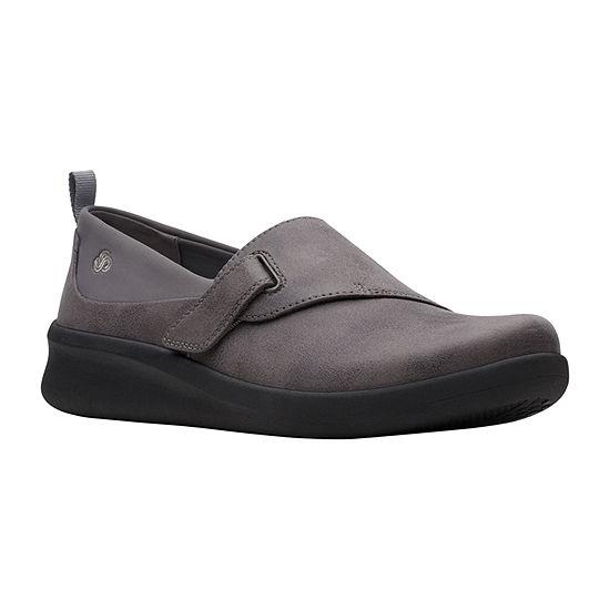 Clarks Womens Sillian2.0ease Slip-On Shoe Closed Toe