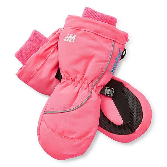 WinterProof Little Girls Cold Weather Gloves
