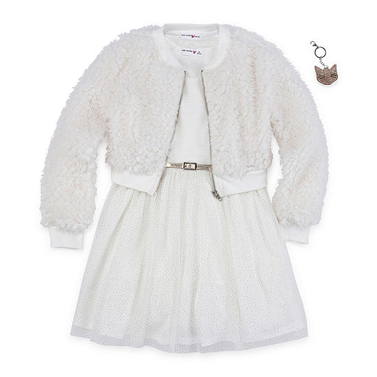 Knit Works Girls 2-pc. Jacket Dress