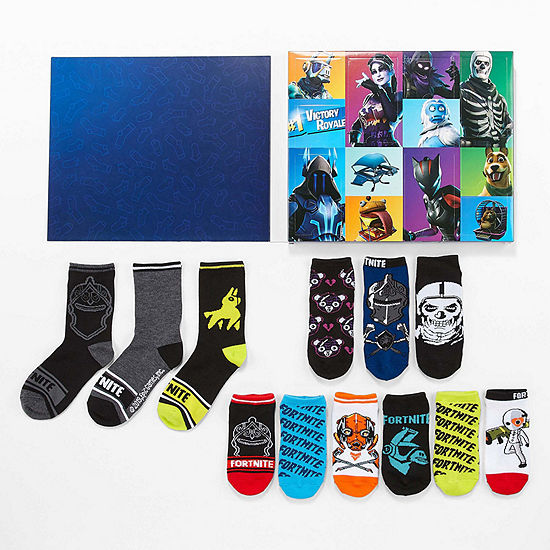 Fortnite Boys 12 Days of Socks Advent Box Set – Preschool/Big Kid