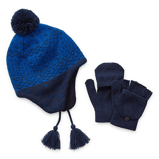 Weatherproof Fall/Winter Accessories Boys 2-pc. Ombre Cold Weather Set Preschool / Big Kid