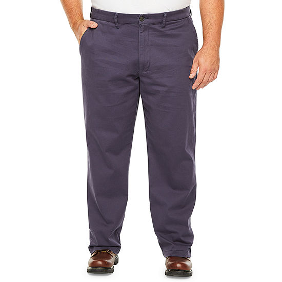The Foundry Big & Tall Supply Co. Mens Mid Rise Regular Fit Flat Front Pant - Big and Tall