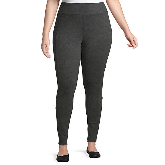 Rewash-Juniors Plus Womens Skinny Pull-On Pants