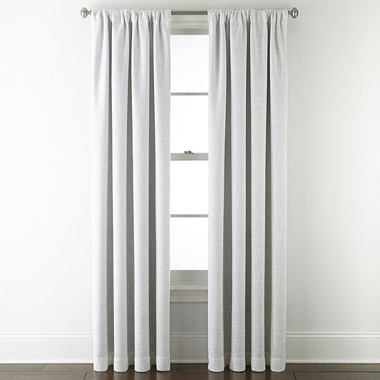JCPenney Home Sullivan Energy Saving Blackout Back-Tab Single Curtain Panel