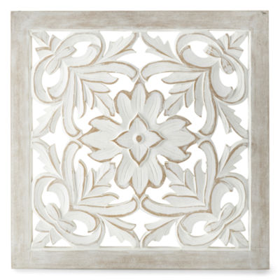JCPenney Home Natural Medallion Wall Sign