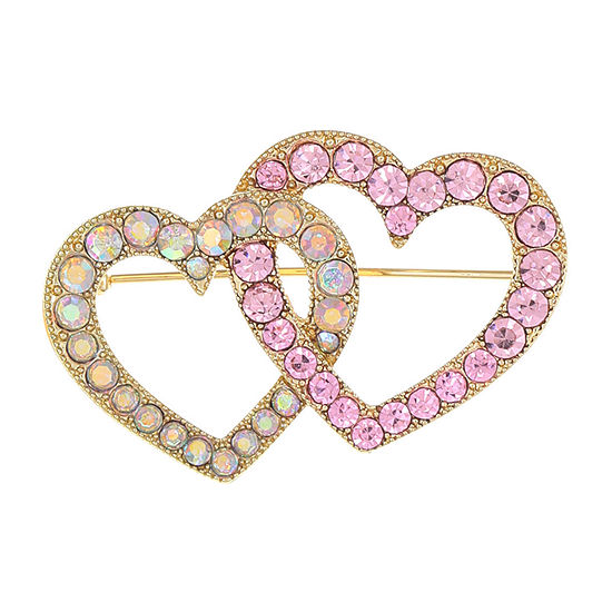 Monet Jewelry Pink Heart Pin