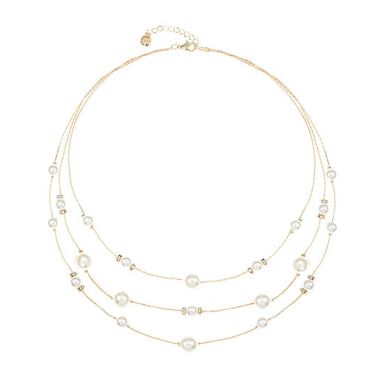 Monet Jewelry 21 Inch Cable Illusion Necklace
