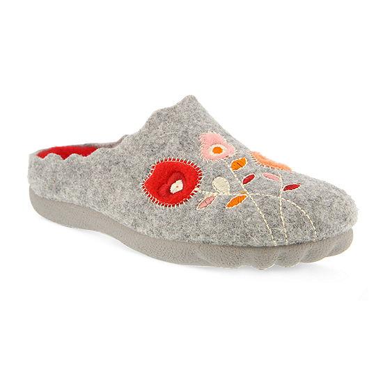 Flexus Womens Flexus Wildflower Slip-On Shoe Round Toe
