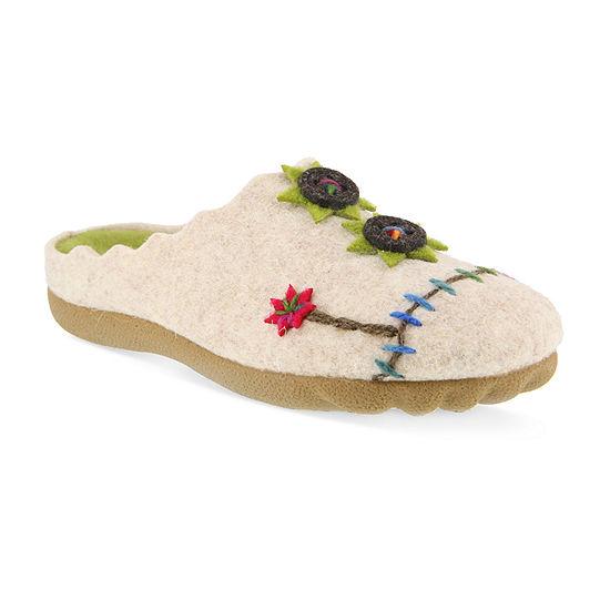 Flexus Womens Flexus Piketfens Slip-On Shoe Round Toe