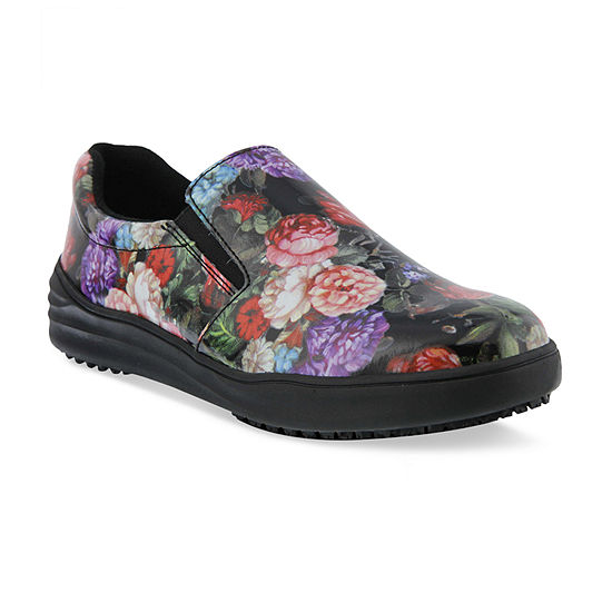 Spring Step Professionals Womens Spring Step Professional Waevo-Garden Slip-On Shoe Round Toe