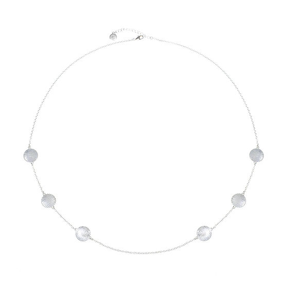 Liz Claiborne 34 Inch Cable Strand Necklace