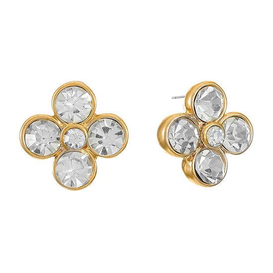 Monet Jewelry 14mm Stud Earrings