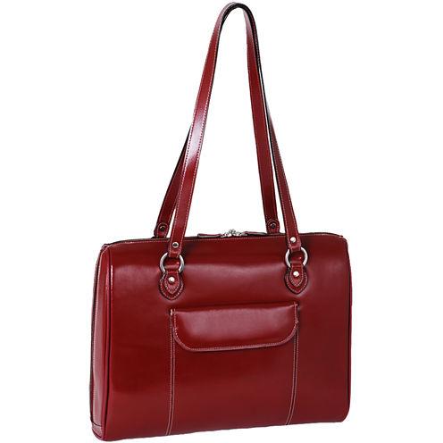 "McKleinUSA Glenview 15.4"" Leather Laptop Briefcase"