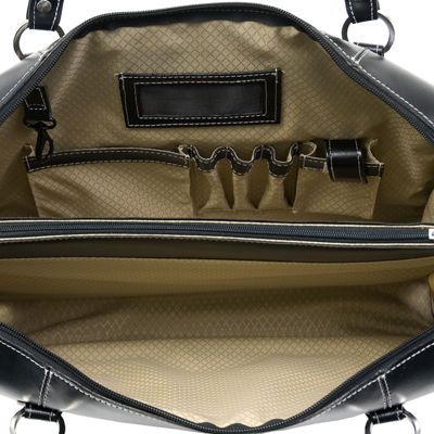 "McKleinUSA Glenview 15.4"" Leather Laptop Briefcase"