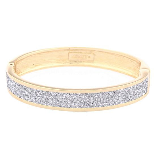 Jcpenney Gold Bracelets: Monet Jewelry Gold Tone Bangle Bracelet
