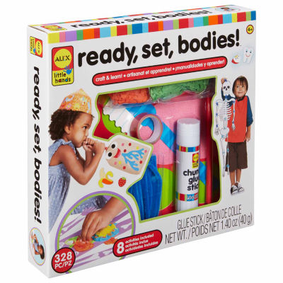 ALEX TOYS Little Hands Ready Set Bodies Interactive Toy - Unisex