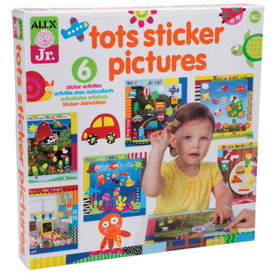 Alex Toys Alex Jr Tots Sticker Pictures Discovery Toy