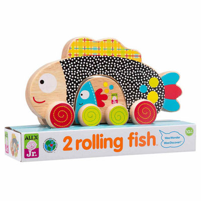 ALEX TOYS Alex Jr 2 Rolling Fish 2-pc. Discovery Toy
